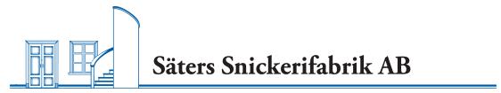 Säters Snickerifabrik Logotyp